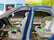 Play Clean Dad's Car