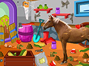 Play Clean up horse farm 2