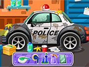Play Clean up police car