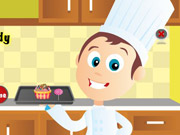 Play Cook Cupcake and Candy