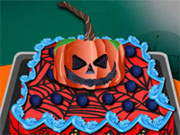 Play Cooking Halloween Cake