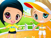 Play Cute Baby Couple