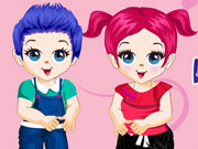 Play Cute Baby Twins