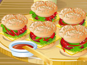 Play Cute Little Mini Burgers