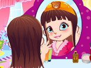 Play Cute Mirror Girl Make Up