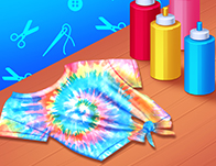 Play Design With Me Cute Tie Dye Tops
