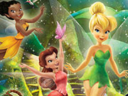 Play Disney Fairies Hidden Letters