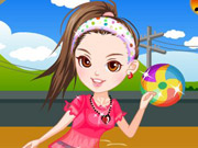 Play Dog trainer dressup
