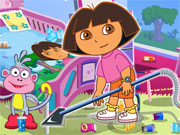 Play Dora Groom The Room