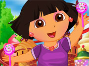 Play Dora in Candyland