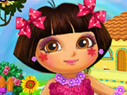 Play Dora Real Makeover