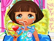 Play Dora Sunburn