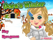 Play Dora's winter