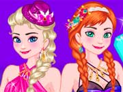 Play Elsa and Anna Sisters Night Out