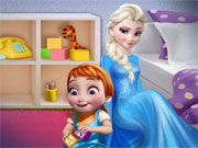 Play Elsa and Baby Anna