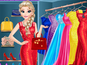 Play Elsa Dress Up Room