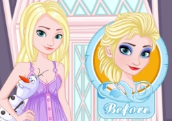 Play Elsa Make Up Removal