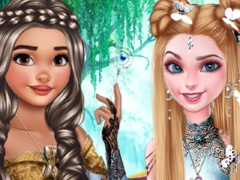 Play Elsa Moana Fantasy Hairstyles
