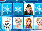Play Frozen Memory Game