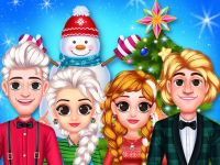 Play Frozen Princess Christmas Celebration