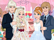 Play Frozen Sisters Wedding Party