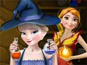 Play Frozen Superpower Potions