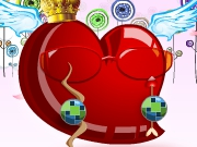 Play Funky Heart Deco