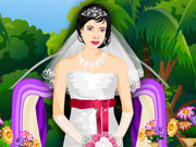 Play Girly Wedding Dress Up