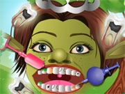 Play Green Monster Dentist