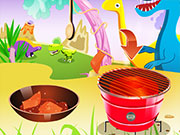 Play Grilled Salmon