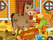 Play Horse Farm Cleanup