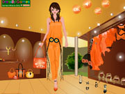 Play HT83 orange fashion Dress Up