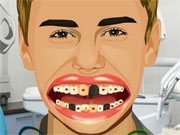 Play Justin Bieber Perfect Teeth