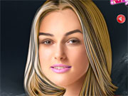 Play Keira Knightley Celebrity Makeover