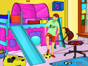 Play Kids Room Coloring