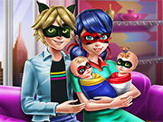 Play Ladybug Twins Family Day