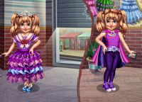 Play Little Girl Superhero Vs Princess