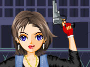 Play Lookout Shooter Girl