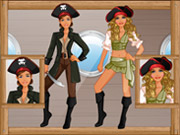 Play Makeover Studio - Pirate Girl