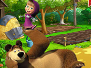Play Masha and the Bear Farm Adventure