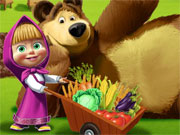 Play Masha and the Bear Farm