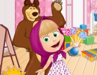 Play Masha And The Bear Fun Time