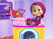 Play Masha Laundry Day