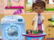 Play McStuffins Washing Clothes