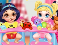 Play Messy Baby Princess Cleanup
