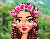 Play Moana Stylish Tropical Flowers