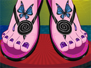 Play Monster High Pedicure