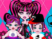 Play Monster High Twins Babysitter