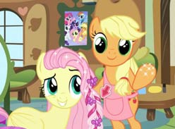 Play My Little Pony Hair Salon