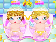 Play My Newborn Twins